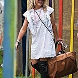 Billie Piper at Glastonbury 2015