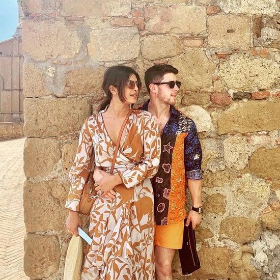 Nick Jonas and Priyanka Chopra Italy Vacation Pictures 2019