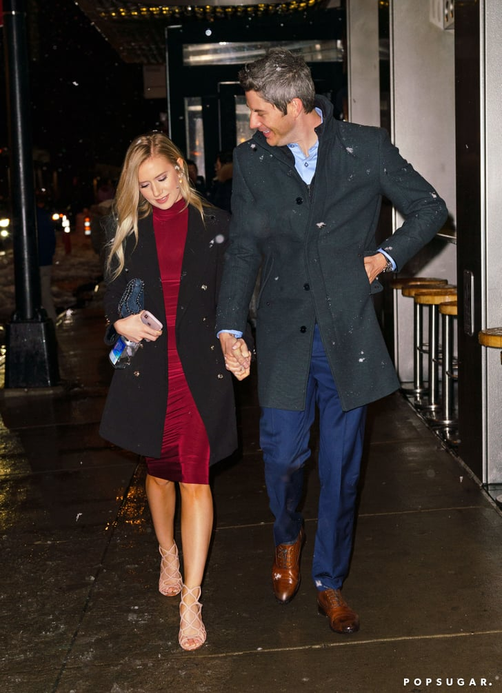 Arie Luyendyk Jr. and Lauren Burnham Out in NYC March 2018 ...