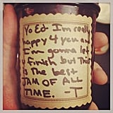 When Taylor Made Ed Some Jam