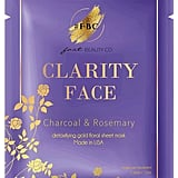 Fast Beauty Co. Detoxifying Gold Floral Sheet Mask
