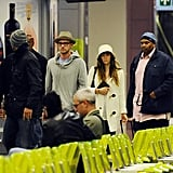 Newlyweds Justin Timberlake and Jessica Biel stepped out in Italy.