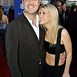 Carson Daly and Tara Reid, 2001