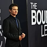 Jeremy Renner was in attendance at the world premiere of The Bourne Legacy in NYC.