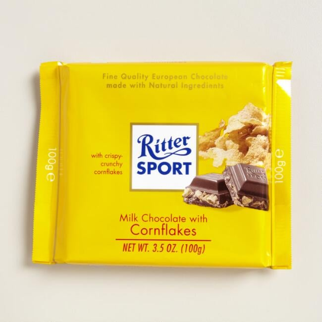 17 Best Images About Cost Plus World Market Food And More: Ritter Sport Milk Chocolate With Cornflakes