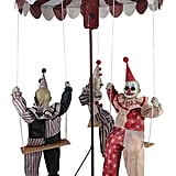 Clowns Go Round Animated Prop Halloween Decoration