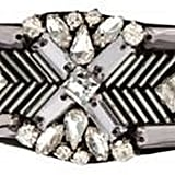 No. 1 Jenny Packham Designer Silver Beaded Hair Clip