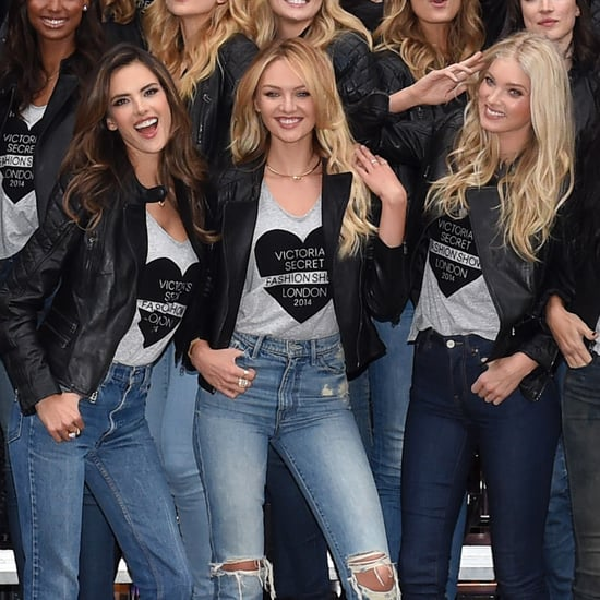 Victoria's Secret Angels in London Before 2014 Show | Video