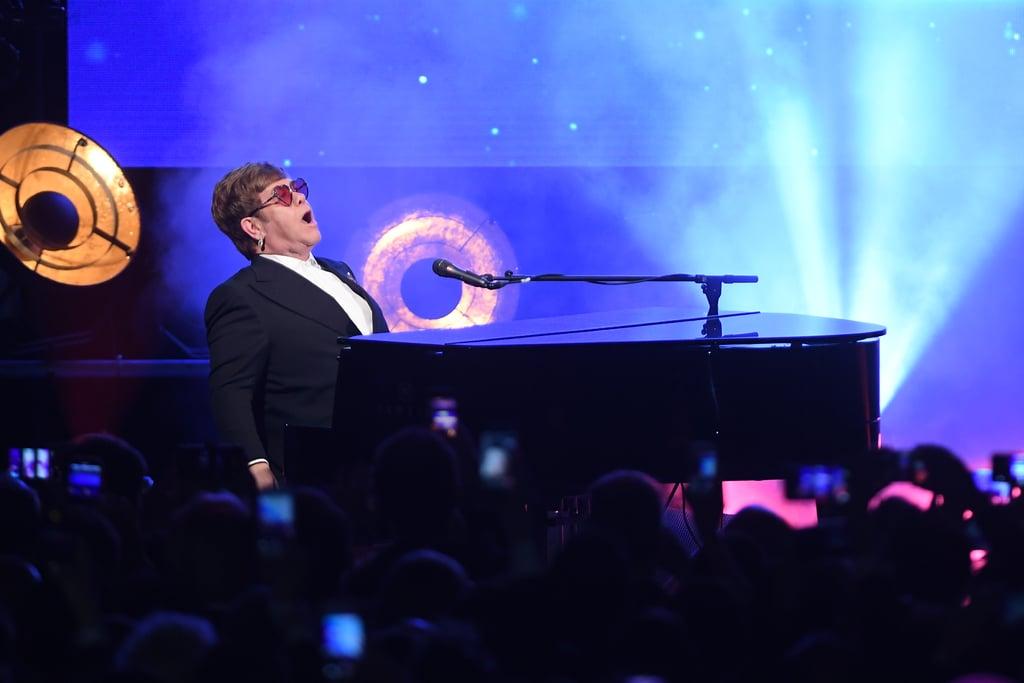 Photos of Elton John and Taron Egerton's Performance