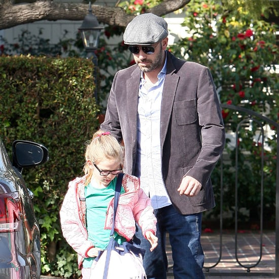 Ben Affleck With Daughter Violet in Santa Monica
