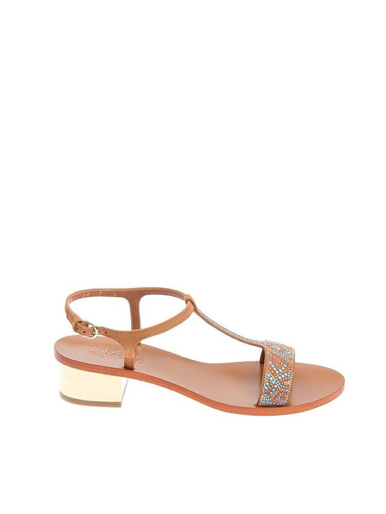 Salvatore Ferragamo Evia Flat Sandals