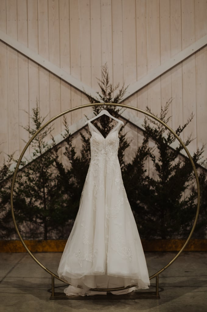 Outdoor North Pole Christmas Wedding Ideas