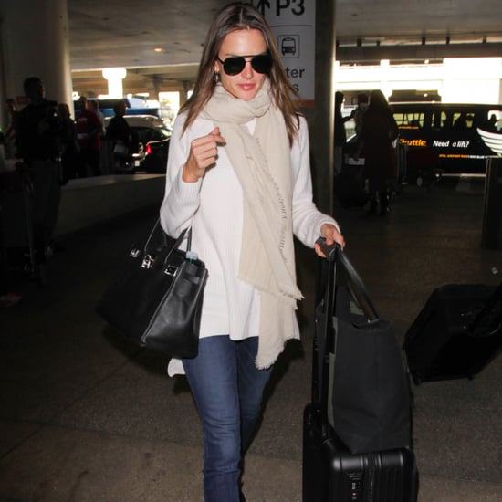 Alessandra Ambrosio Airport Style