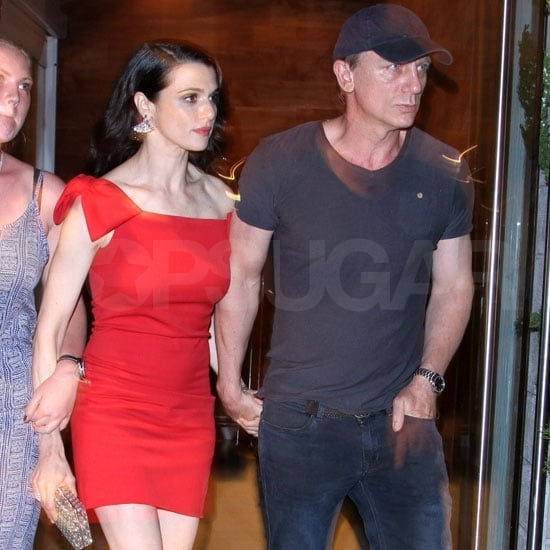 Rachel Weisz with husband Daniel Craig in NYC.