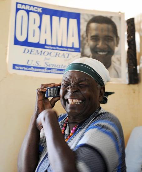 Briefing Book! Obama's Kenyan Grandmother Flies to DC