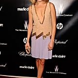 Malin Akerman at the Weinstein Company's Golden Globes after party.