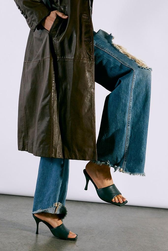 Something Square: Alohas Loren Puffy Heels