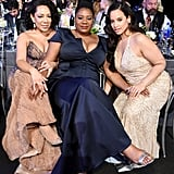 Pictured: Selenis Leyva, Adrienne C. Moore, and Dascha Polanco