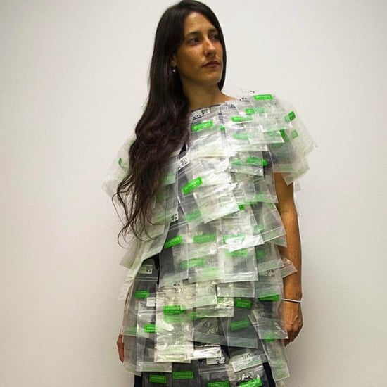 Working Mom's Breast Milk Bag Suit Photo Series