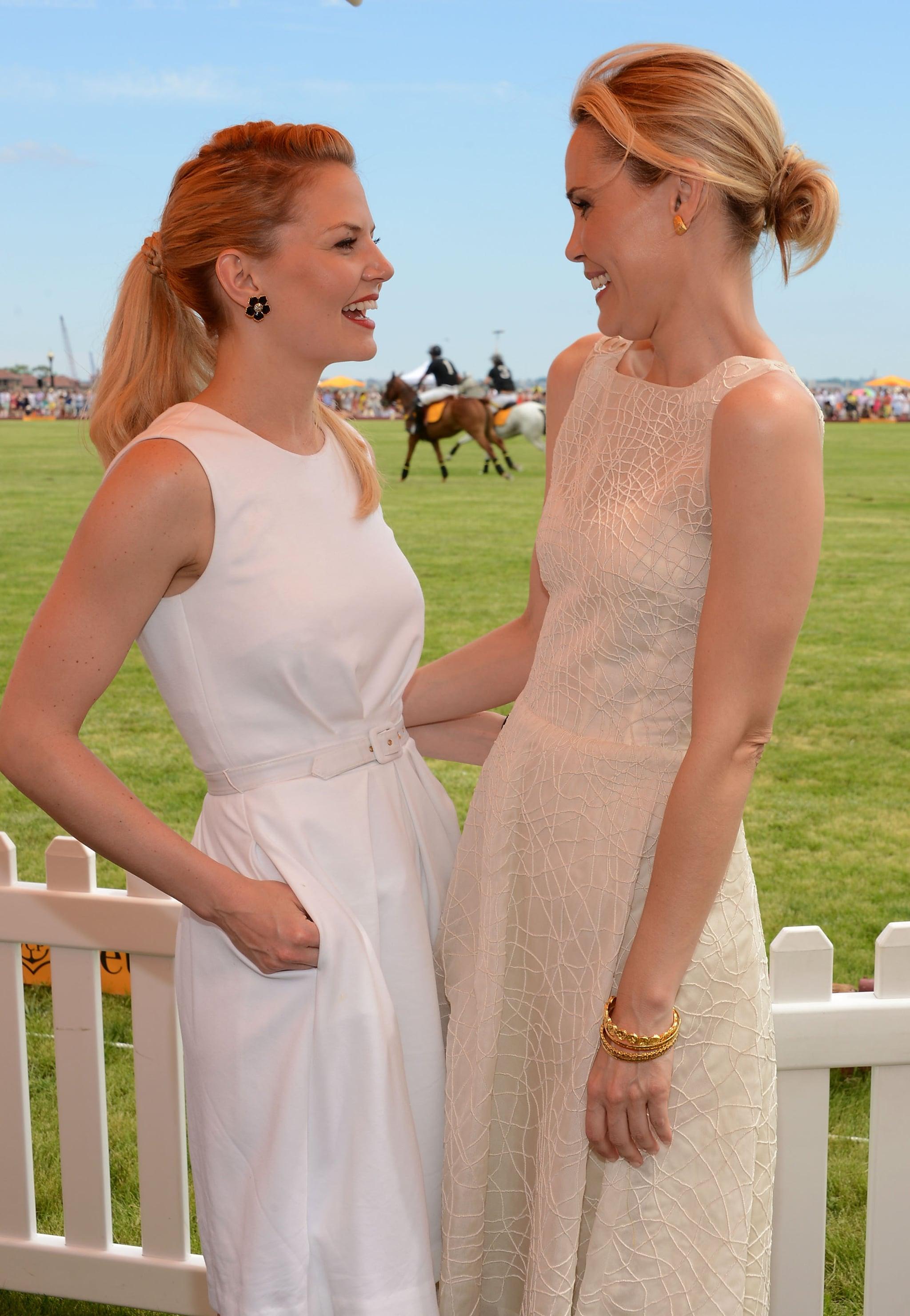 Rachel Zoe Brings Skyler Along For a Polo Day With Clive Owen