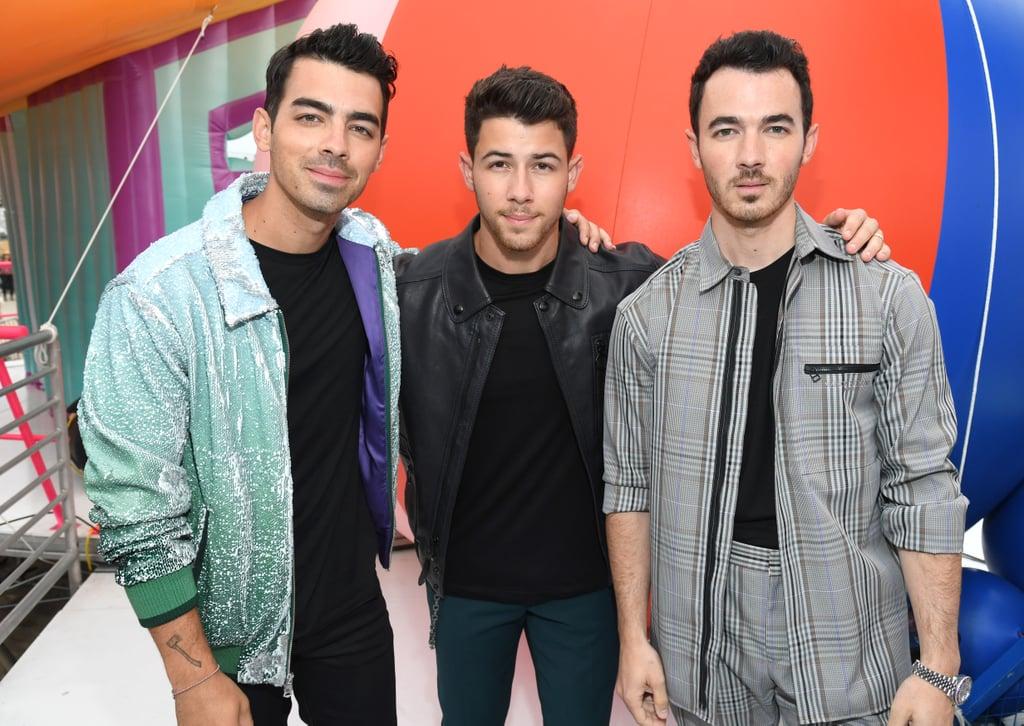 Joe Jonas, Nick Jonas, and Kevin Jonas at the Teen Choice Awards 2019