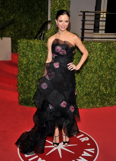Pictures of Fashion Designers Tory Burch, Tom Ford, L'Wren Scott, Georgina Chapman on 2011 Academy Awards/Oscars Red Carpet