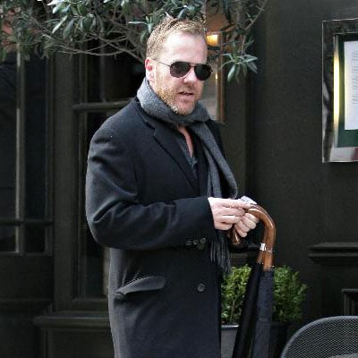 Kiefer Sutherland in London