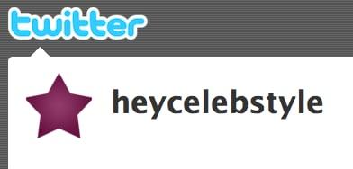 Follow CelebStyle on Twitter!