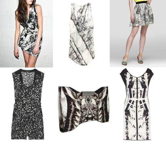 Shopping: Black & White X-Ray Prints