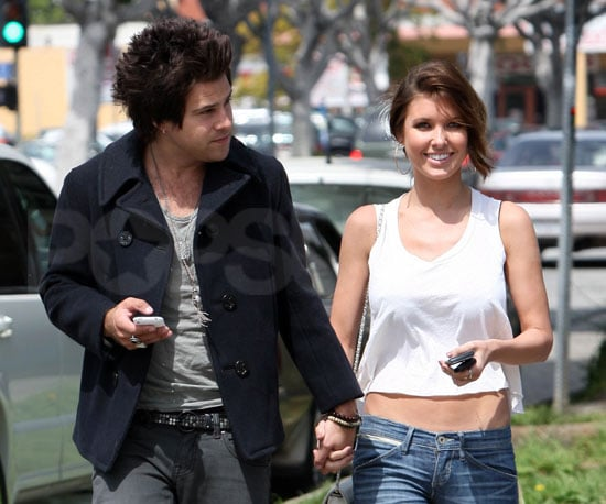 Slide Photo of Audrina Patridge and Ryan Cabrera Holding Hands 2010-03-25 07:30:03