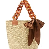 Donni Mini Sugar Woven Straw Tote