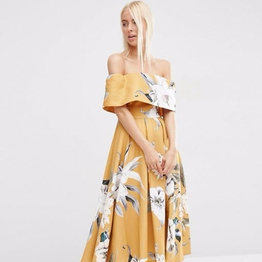 Midi Floral Dresses Online Shopping 2016