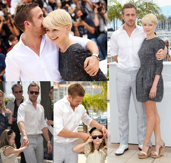 Pictures of Ryan Gosling and Michelle Williams at Cannes Photo Call for Blue Valentine 2010-05-18 17:30:42