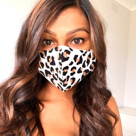 Blank Canvas Styling 100% Cotton Face Mask
