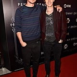 Josh Hartnett and his Penny Dreadful costar Reeve Carney walked the red carpet on Thursday.