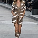 Gisele Bündchen on the Chanel Runway at Paris Fashion Week Spring/Summer 2015