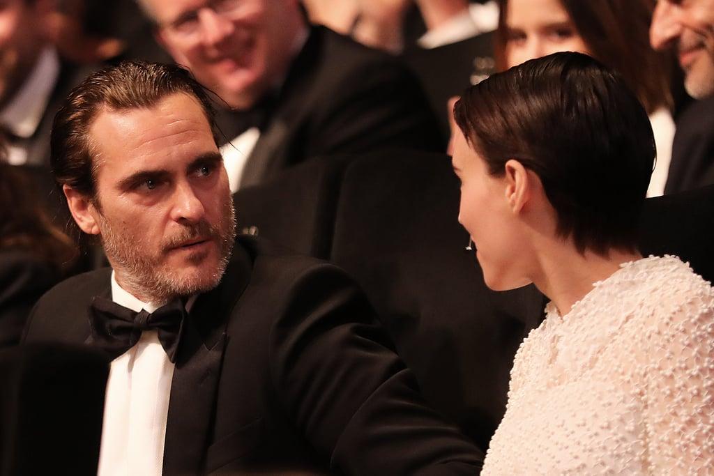 Joaquin Phoenix and Rooney Mara at Cannes Photos 2017