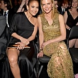 Jennifer Lopez and Nicole Kidman posed for a snap.
