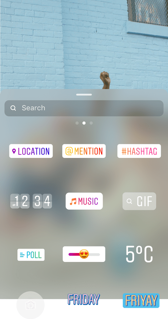 The Music Icon Will Now Pop Up Among the Other GIF, Hashtag, and Mention Icons