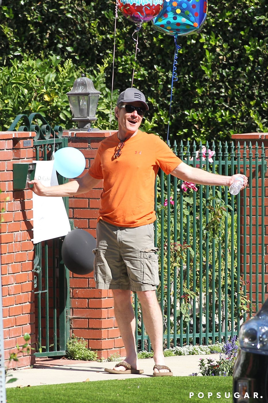 Emmy Winner Bryan Cranston Gets Welcomed Home With Balloons and a Sweet Sign