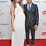 In 2014, Meagan Camper showed off her baby bump when she and Pete Wentz walked the red carpet.