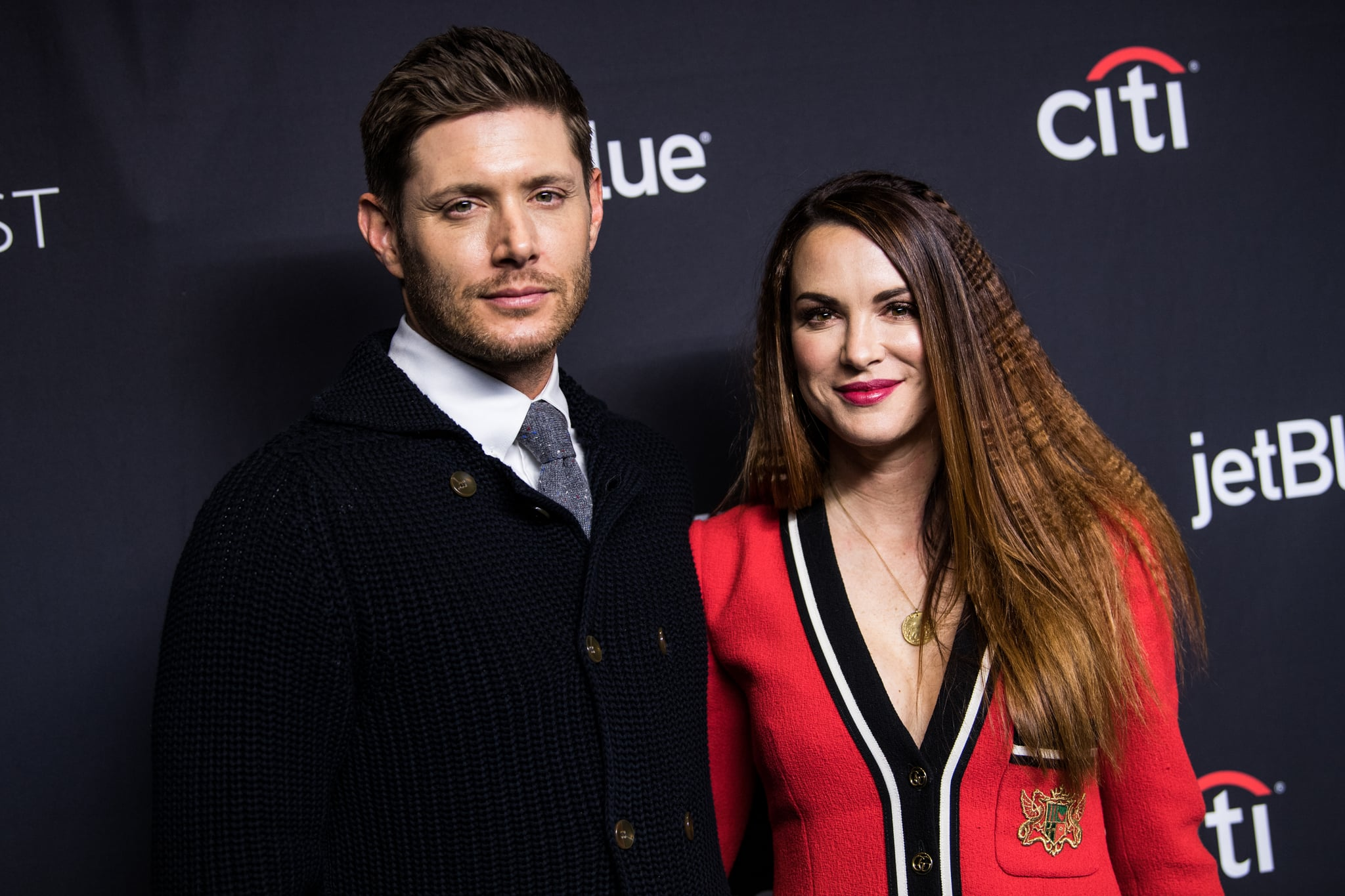 HOLLYWOOD, CA - MARCH 20:  Actor Jensen Ackles and Danneel Ackles attend the Paley Center for Media's 35th Annual PaleyFest Los Angeles