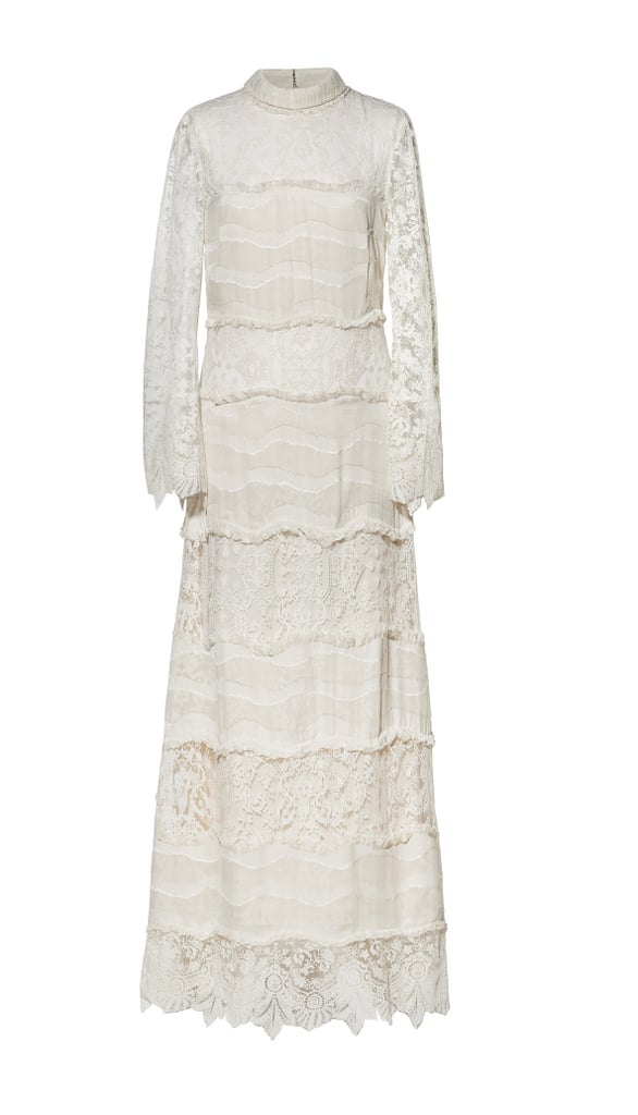 H&M Conscious Collection Long Silk-Blend Lace Dress ($500)