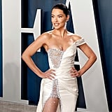 Adriana Lima at the Vanity Fair Oscars Afterparty 2020