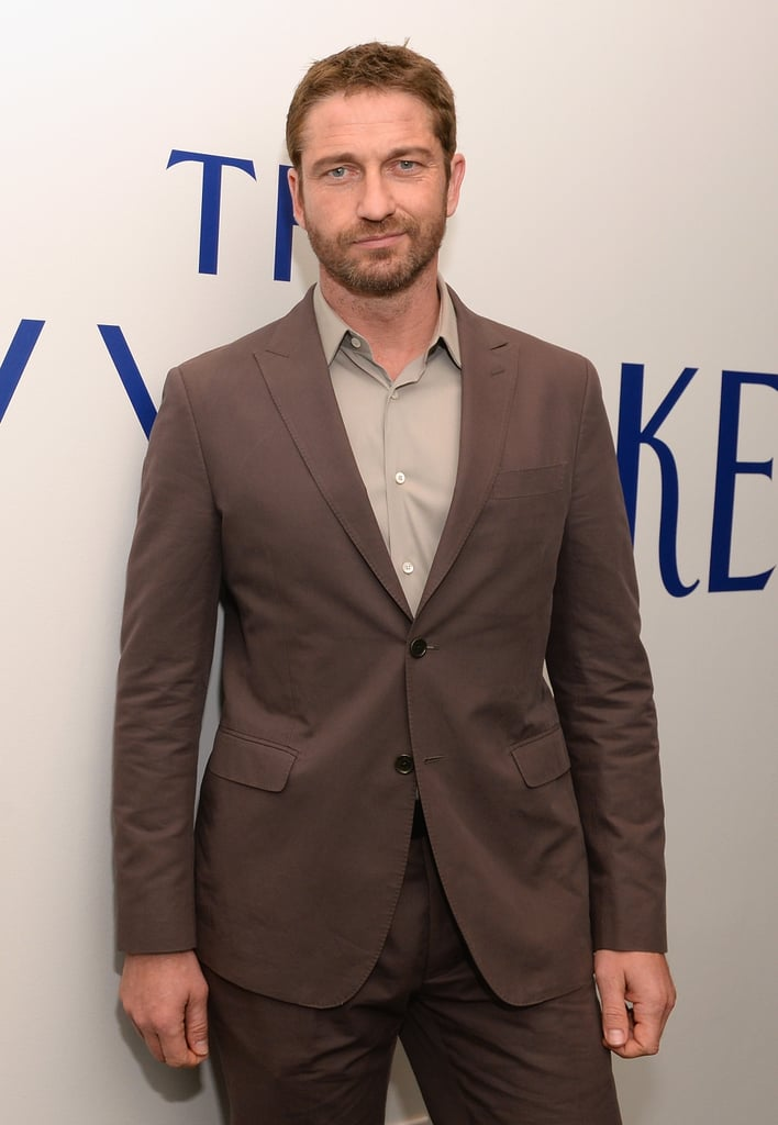 Gerard Butler made the rounds at The New Yorker's party.