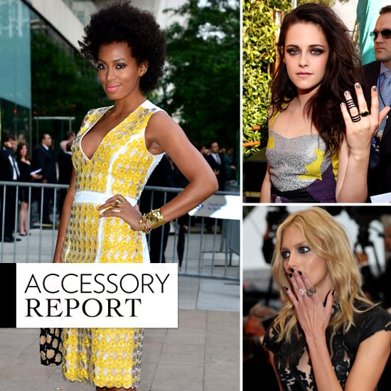Stacked Rings Summer 2012 Trend