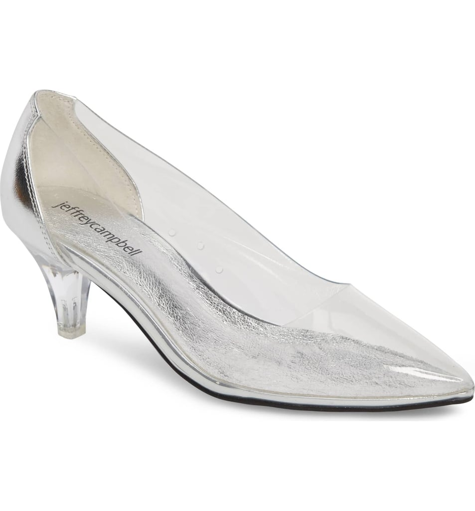 Jeffrey Campbell Gracienne Transparent Pump