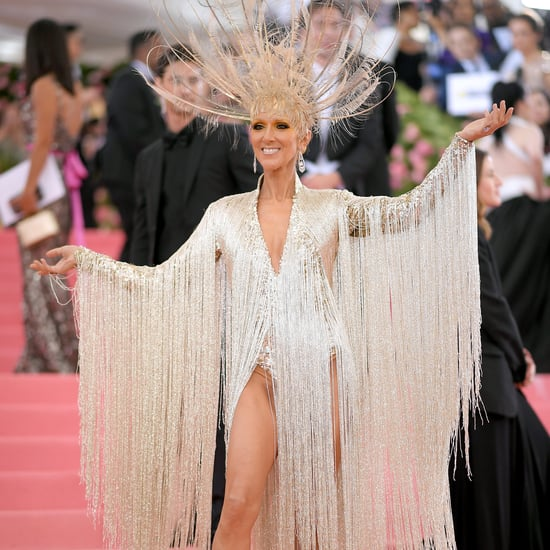 Celine Dion Oscar de la Renta Dress at the 2019 Met Gala