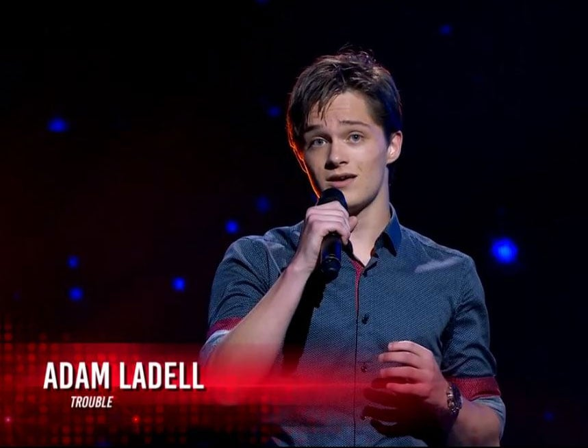 Adam Ladells The Voice Audition With Tourettes