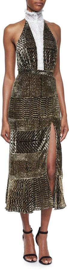 Altuzarra Lace Insert Dress ($4,995)